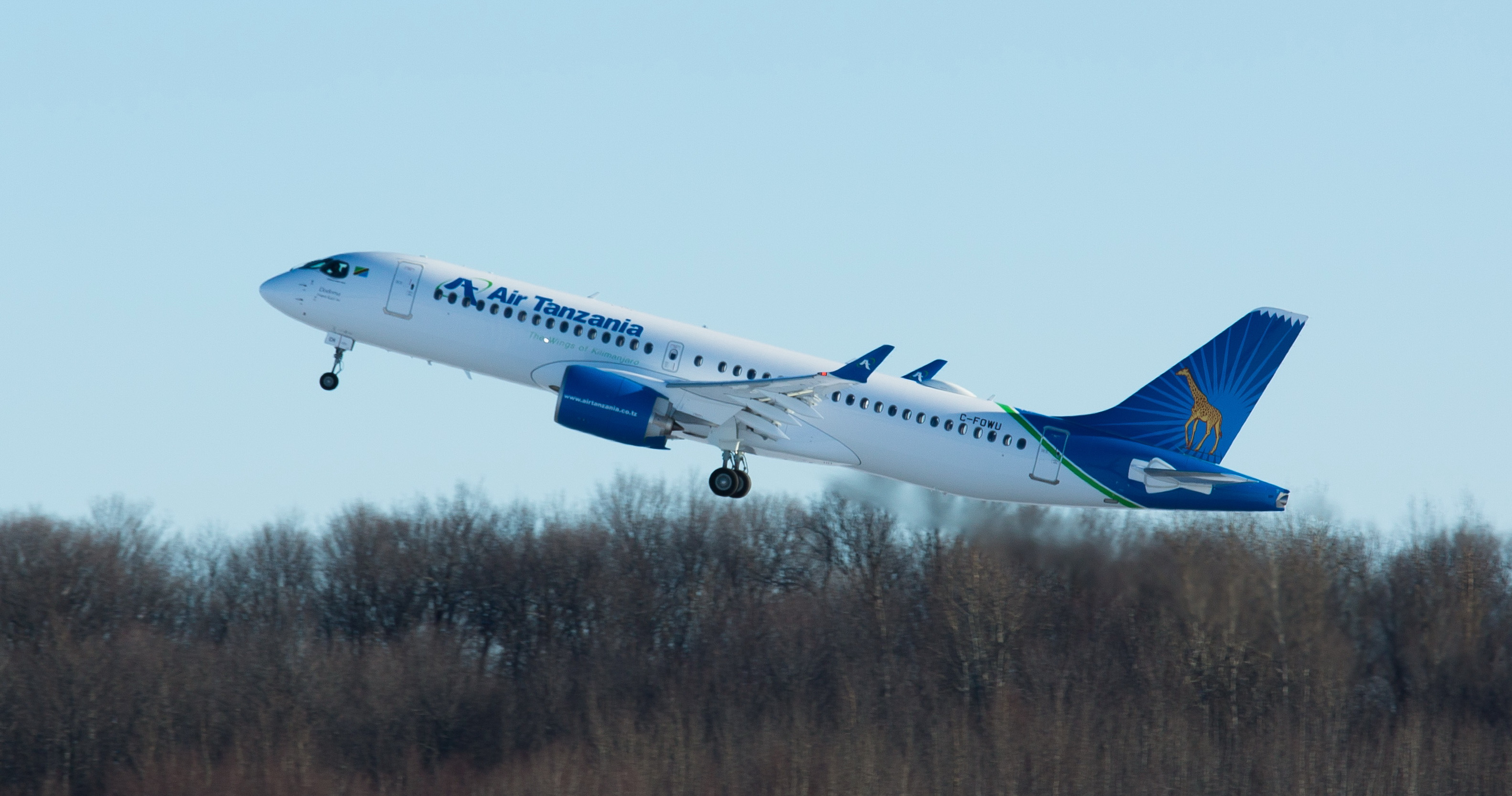 Airbus Delivers First A220 Air