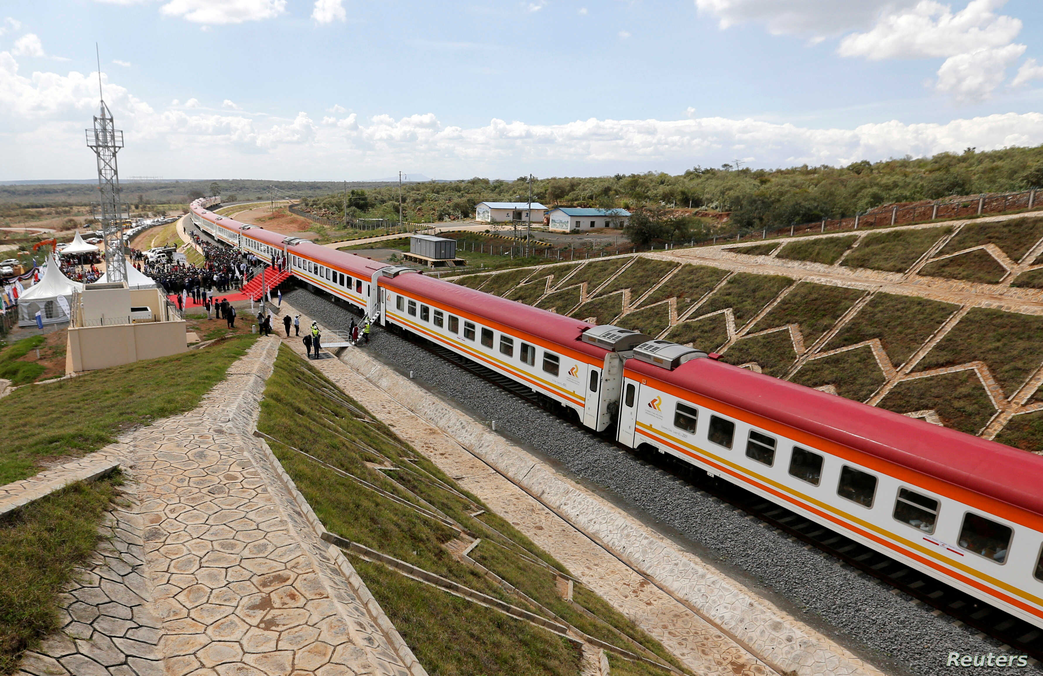 SGR Kenya Train